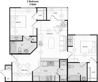 Eagle Flatts Apartment In Hattiesburg Ms