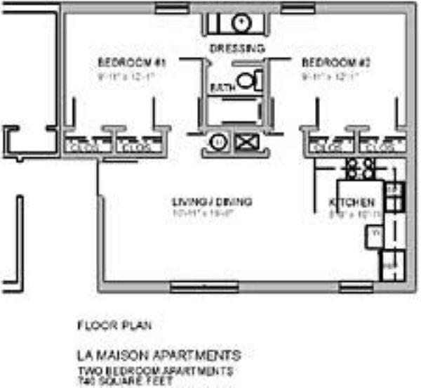 La Maison Apartment Homes Apartment In Hattiesburg Ms
